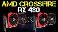 RADEON RX 480 8GB CROSSFIRE