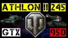 ATHLON II X2 245 + GTX 950
