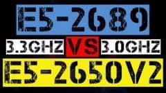 XEON E5-2689 VS E5-2650 V2
