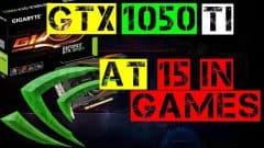 GTX 1050 Ti 4Gb TEST IN 15 GAMES