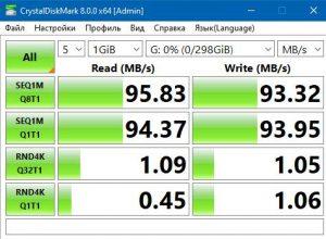 KESU USB 3.0 CrystalDiskMark