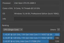 Windows 10 Cinebench R23