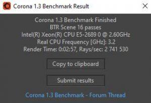 Windows 11 Corona E5-2689