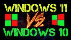 WINDOWS 11 VS WINDOWS 10 CPU TEST
