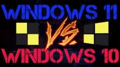 WINDOWS 11 VS WINDOWS 10 GPU TEST