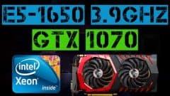 XEON E5-1650 + GTX 1070