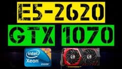 XEON E5-2620 + GTX 1070