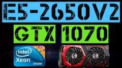 XEON E5-2650 v2 + GTX 1070