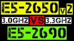 XEON E5-2650 v2 vs E5-2690