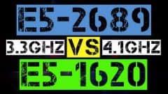 XEON E5-2689 VS E5-1620