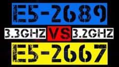 XEON E5-2689 VS E5-2667